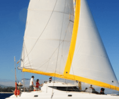 Balade en Catamaran